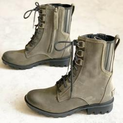 $190 Sorel Womens Boots 7 Pheonix Lace Up Combat All Weather