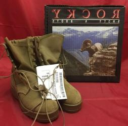 ROCKY 798 Hot Weather Boots Coyote Brown MADE IN USA Size 4N
