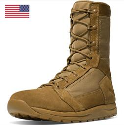 "Danner 8"" Tachyon Coyote Leather Combat Military Boots 50136"