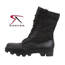 Rothco 9'' Speedlace Jungle Boot, Black, 5W