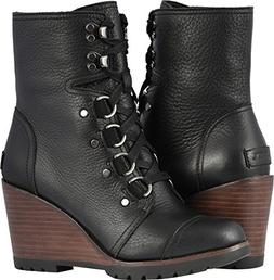 Sorel Women's After Hours¿ Lace Black Full Grain Leather 8.