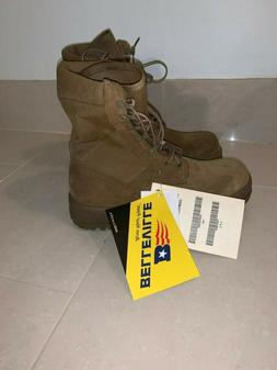 Belleville Army Combat Boots, Size 9W - Temperate Weather -