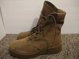 Army Combat Boots Temperate Weather Vibram Sole Coyote Brown