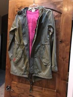 Superdry Army Green Military Jacket  & Champion Hot Pink Cam