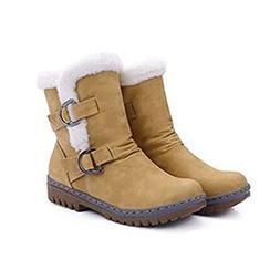 Tebapi Womens Backpacking Boots Fashion Winter Boots Women S