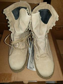 BATES Army Issued Combat Boots Coyote Gore-TexNew Size 4.5XW