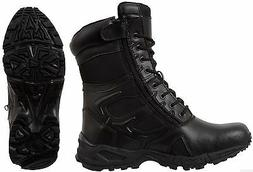 Black Forced Entry Tactical Boot Deployment Military Combat