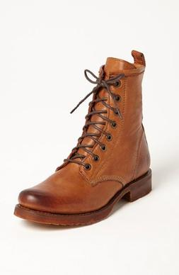 Women's Frye 'Veronica Combat' Boot, Size 5.5 M - Brown