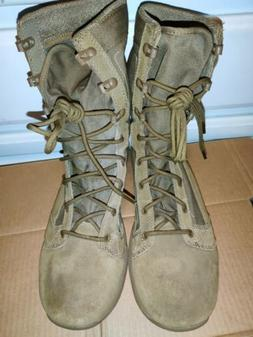 """Danner Boots 8"""" TACHYON Coyote Brown Military Boot Size 10 U"""