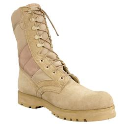 Boots GI Style Desert Tan Sierra Sole Military Tactical Roth