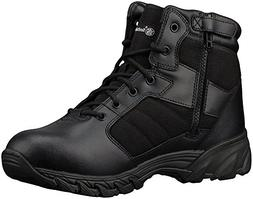 Smith & Wesson Men's Breach 2.0 Tactical Size Zip Boots, Bla