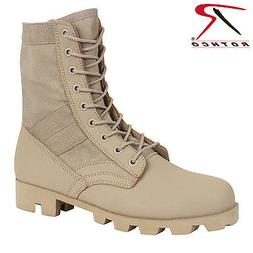 Rothco Classic Military Jungle Boots - Desert Tan Tactical B