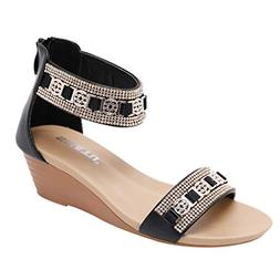 AgrinTol Clearance!Women Sandals Bohemia Shoes Wedges Shoes