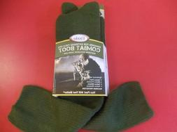 Thorlo Combat Boot Over Calf MCB-13 Olive Green Size Large