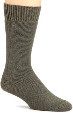 Wigwam Mens Combat Boot 2 Pack Socks, Foliage Green, X-Large