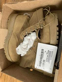 Army combat boots 9R Hot Weather HW Coyote