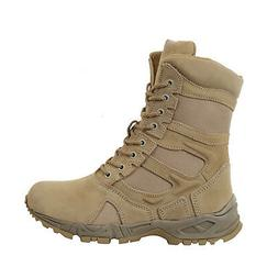 Combat Boots Desert Tan Side Zipper Deployment Rothco 5357