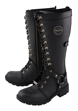 Milwaukee Leather Women's Combat Style Harness Boot