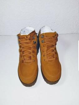 Forever 21 Combat tan Riding Low Boots Lace Up Buckle Lace U