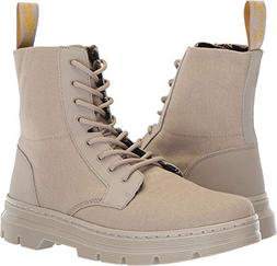 Dr. Martens Combs II Combat Boot, Taupe, 10 M UK