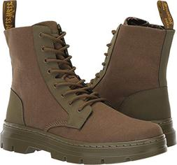 Dr. Martens Combs II Combat Boot, DMS Olive, 7 M UK