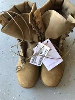 Coyote Hot Weather Army Combat Boots Style Size 11.5 Reg Ven