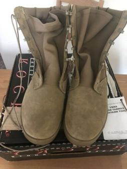 Rocky ARMY COMBAT BOOTS Hot Weather COYOTE SIZE 11W