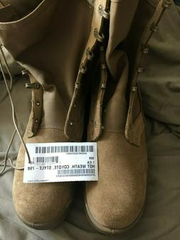 Coyote Tan Combat Boots - Size 10R
