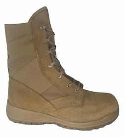 Dept of Defense 41800 Coyote Hot Weather Combat Boots with V