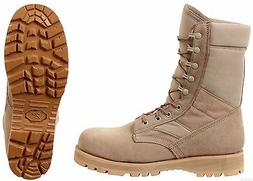 "Desert Tan Military Boots Sierra Sole 8"" Tactical Desert Boo"