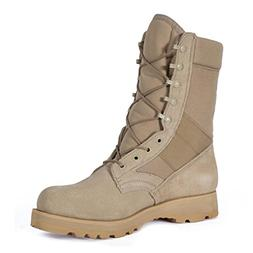 "Rothco 8"" Desert Tan Sierra Sole Boot, 	Regular 10"
