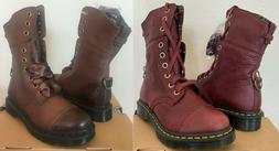 Dr Martens Aimilita Leather 9 Eye Combat Boots