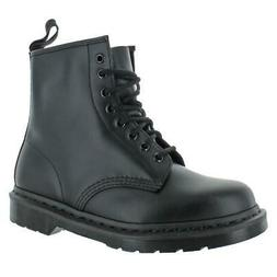 Dr. Martens Mens 1460 Mono Padded Insole Ankle Combat Boots