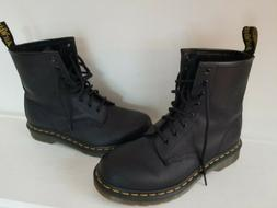DR MARTENS **NEW** WOMEN'S 1460 BLACK LEATHER 8 EYELET Comba