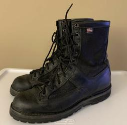 duty combat leather boots acadia 8 black