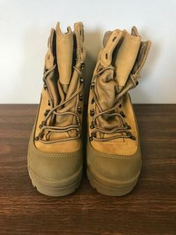 Bates E03412A 5 Regular, Tan, Combat Mountain Boot, Gore-Tex