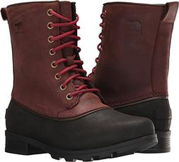 Sorel Women's Emelie 1964 Booties, Redwood/Black, 9 M US