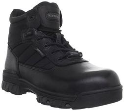 Composite Toe Boots Leather Slip Resistant Cushioned Denier