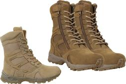 Forced Entry Combat Deployment Boots Side Zipper Tactical 8""