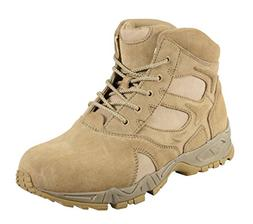 Rothco Men's 6 Inch Forced Entry Desert Tan Deployment Boot