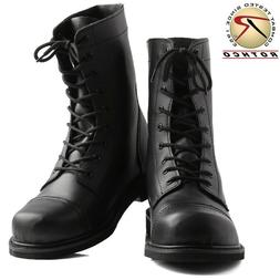 Rothco G.I Type Steel Toe Combat Boots- Black - 5092