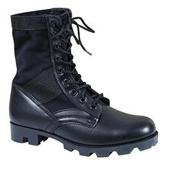 Rothco Gi Type Jungle Boot 8'' Black Size 7 Wide