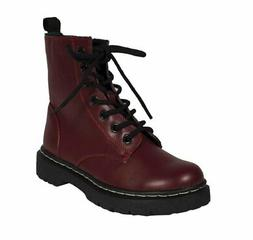 Soda Grunge! By Military Lace Up Combat High Ankle Boots, wi