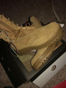 hot weather army combat boots coyote size
