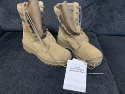 Hot Weather Mens Army Combat Boots Coyote Brown 798 USA Comb