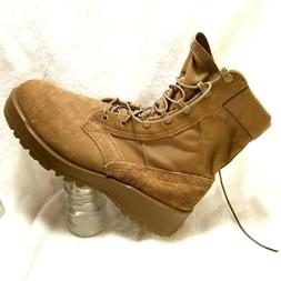 US Army issued Mens Military Boots sz 8.5 W hot weather army