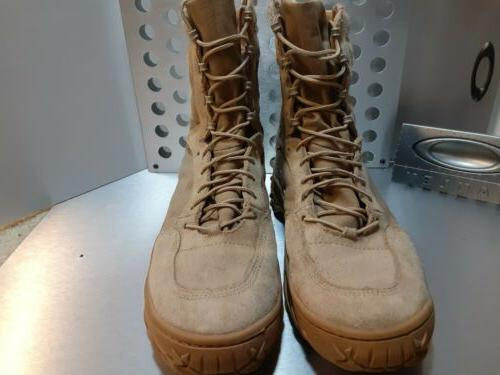Oakley Military Tactical Lace Tan Boots Mens