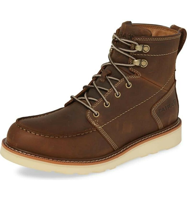185453 mens recon lace up leather casual