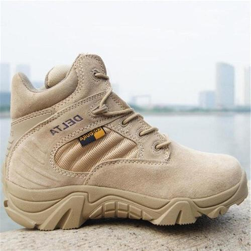 2019 Military Quality Force Desert Ankle Boats Shoes