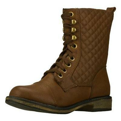 48255 awol womens lace up combat boots